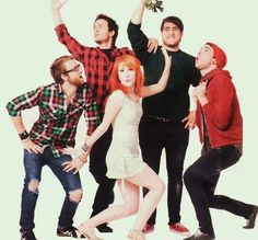 Paramore---- the original. Reminds of good old high school days. The new cd is awesomeness.
