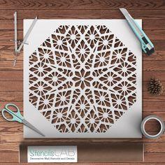 Geometric Stencil For DIY