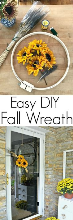 Simple DIY Fall Fron