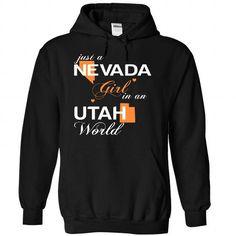 (NVJustCam002) Just A Nevada Girl In A Utah World #hoodie #Tshirt