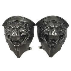 Larp Armour fantasy Lion shoulders