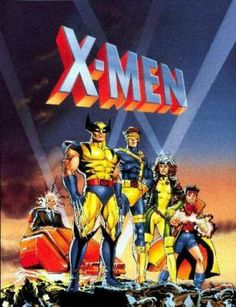 """X-Men the Animated Series, 1992-1997... Saturday morning cartoons... I think this was the only """"boy"""" cartoon  my sister's and I watched."""