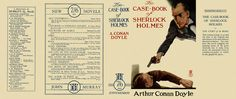 Case-Book of Sherlock Holmes, The by Sir Arthur Conan Doyle on Facsimile Dust Jackets, LLC Miniatures, Arthur Conan Doyle, Mini Books, Sherlock Holmes, Book Covers, Magazines, Porch, Novels, Barbie