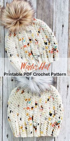 Make a Cozy Hat – Crochet Crochet Hats For Boys, Easy Crochet Hat, Crochet Winter Hats, Crochet Beanie Pattern, Knit Or Crochet, Crochet Crafts, Crochet Baby, Crochet Projects, Crochet Patterns