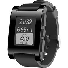 Amazon.com: Pebble Smartwatch for iPhone and Android (Black): Cell Phones & Accessories