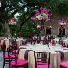 Terra Flowers, Gifts and Services, Inc Japanese Party, Japanese Wedding, Wedding Venue Decorations, Wedding Venues, Table Decorations, Cherry Blossom Party, Asian Party, Orchid Centerpieces, Lace Runner