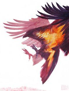 Wild – De superbes peintures d'animaux réalisées avec quelques traits de pinceau