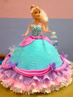 Beautiful Princess Fondant Cake