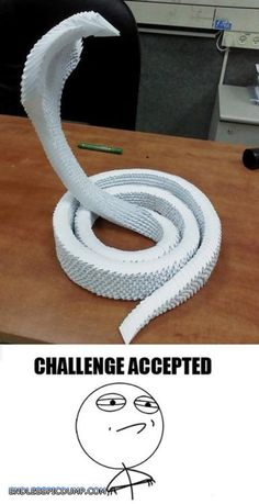 Origami Snake Endless Picdump