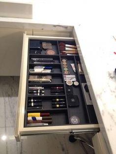 organizador de maquiagem - Arte Fluff