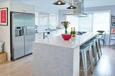 Caesarstone House Rules Kitchen a delight for WA Team Carole & Russell