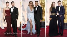 Which couple had the most harmonious look at the Oscars? http://nyti.ms/1DaDZBE