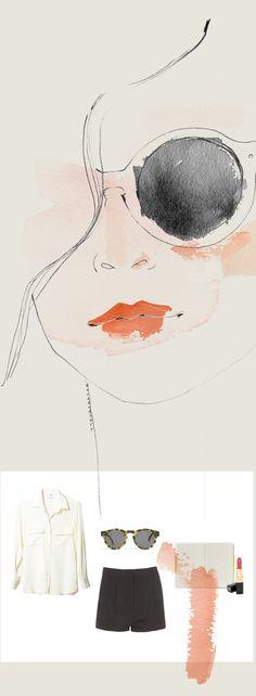 watercolor #illustra