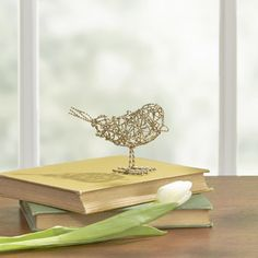 Found it at Wayfair - Nickel Traced Bird Decor Traditional Decorative Objects, Decorative Plates, Alice Lane Home, Joss And Main, Home Accents, Sculptures, Place Card Holders, Bird, Birch Lane