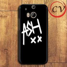 5sos Signature HTC One M8 Mini Black Case