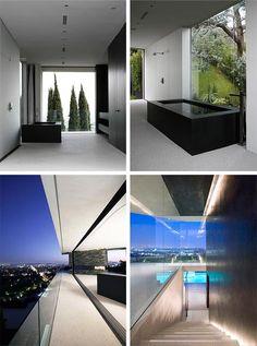 Modern Hillside Home