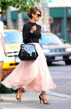 Cute Pink Maxi Tulle Skirt Ways To Wear The Midi Tulle Skirts