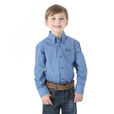 New kids fashion from Wrangler arriving at Billy's Western Wear! Style BGSB166