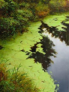 Lush Embankment, Canadian artist Renato Muccillo