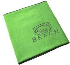 $37 Beach Hot Yoga Towels - Green http://beachyogaandwellness.com/blog/beach-hot-yoga-towels/