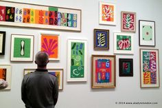 Matisse Cut-Outs Exhibition at the Tate Modern
