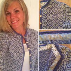 """42 likerklikk, 2 kommentarer – Heidi Ruud (@strikkogtull) på Instagram: """"Festivalkofte med Rosekofta i grunnen og mønsterinspirasjon fra Pinterest 🌟 #strikking…"""" Fair Isle Knitting, Instagram Posts, Sweaters, Fashion, Moda, Fashion Styles, Sweater, Fashion Illustrations, Sweatshirts"""