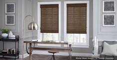 bamboo shades 3 day blinds  I St Thomas Chocolate