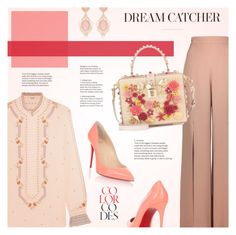 """""""Dream Catcher"""" by redflowergirl ❤ liked on Polyvore featuring Vilshenko, Cushnie Et Ochs, Christian Louboutin and Dolce&Gabbana"""