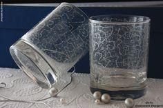 Vasos de whisky bajos hilados en plata. Diseño H1. www.unycgd.wordpress.com unycgd@gmail.com