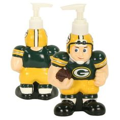 "Amazon.com: Green Bay Packers Bathroom Soap Dispense (Measures 7"" x 4""): Sports & Outdoors"