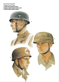 Imagen Luftwaffe, Paratrooper, Ww2 Uniforms, German Uniforms, German Soldiers Ww2, German Army, Military Art, Military History, German Helmet