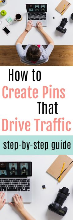Harness the power of Pinterest! Learn how to create high-performing Pinterest pins that drive consistent traffic to you site with this simple, step by step guide. #socialmedia #socialmediamarketing #Blogging #howtoblog #workfromhome