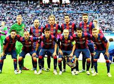 Equipos de fútbol: BARCELONA Campeón de Europa 2015
