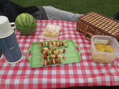 Healthy fun picnic food ideas