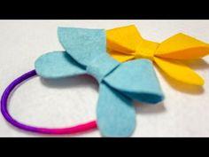 How To Make a Felt Bow | DIY Felt Craft Tutorials | HandiWorks #74 - YouTube