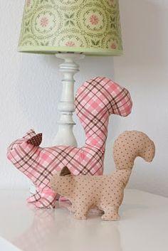 squirrels from Matsutake pattern.  2010