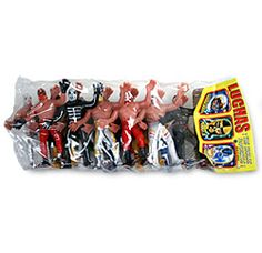 click to enlarge click to see another view Luchador Figures Luchador Figures