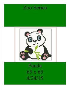 (4) Name: 'Crocheting : Zoo Series Panda