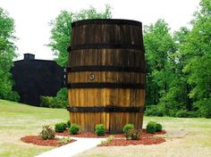 World's Largest Bourbon Barrel Located in Bardstown, KY. Bardstown Kentucky, Louisville Kentucky, Kentucky Derby, Fort Knox Kentucky, Paducah Kentucky, Weekend Trips, Day Trips, Kentucky Vacation, Kentucky Camping