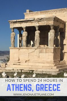 How to spend the perfect 24 hours in Athens, Greece. Explore the Parthenon and feast on gyros in this ancient capital!