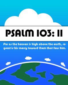 Psalm 103:11 www.egmworld.org