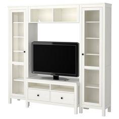 {Playroom} HEMNES TV storage combination - white - IKEA