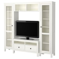 {Playroom} HEMNES TV storage combination - white - IKEA