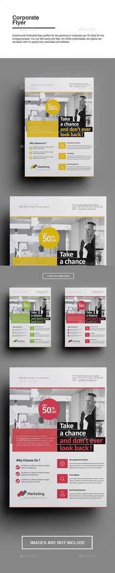 Buy Corporate Flyer by punkl on GraphicRiver. Corporate Flyer Creative and Minimalist flyer, perfect for any personal or corporate use. Corporate Brochure Design, Corporate Flyer, Print Layout, Layout Design, Text Tool, Flyer Layout, Newsletter Design, Business Flyer Templates, Book Layout