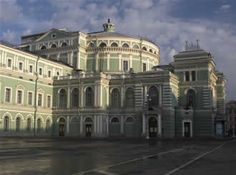 Mariinsky Theatre in St Peterberg is one of the most beautiful structures I know