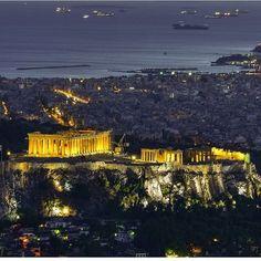 Athens, Paris Skyline, Greece, Instagram Posts, Travel, Greece Country, Viajes, Destinations, Traveling