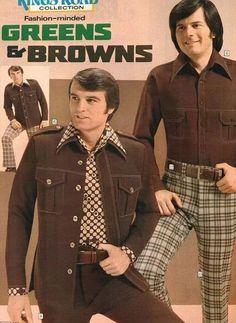 Early 1970s mens wear