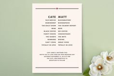 Opposites Attract Wedding Invitations By Kylie Holmes At Minted