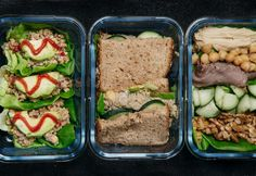 You don't have to stir a single pot, preheat an oven, or even turn on the stove. #greatist https://greatist.com/eat/no-cook-meal-prep-lunches