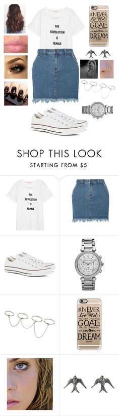 """""""Untitled #399"""" by caitlin1d23-07-10 ❤ liked on Polyvore featuring Dorothy Perkins, Converse, Michael Kors, Topshop, Casetify and Blackbird and the Snow"""